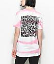 Broken Promises Whirlpool camiseta rosa a rayas