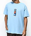 Brooklyn Projects Hey Zeus Powder Blue T-Shirt