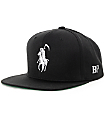 Brooklyn Projects Reaper Black Snapback Hat