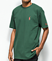 Brooklyn Projects Reaper OG camiseta en verde oscuro