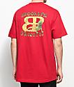 Brooklyn Projects X Lizard King Lizard camiseta roja
