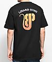 Brooklyn Projects X Lizard King Logo camiseta negra