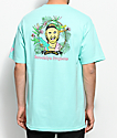 Brooklyn Projects X Lizard King Portrait camiseta en color menta