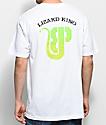 Brooklyn Projects x Lizard King Logo camiseta blanca