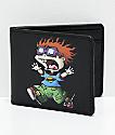 Buckle-Down Planet Chuckie cartera plegable en negro
