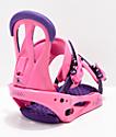 Burton Citizen 2019 fijaciones de snowboard para mujeres en rosa