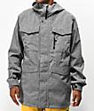 Burton Covert 10K chaqueta de snowboard gris