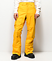 Burton Covert 10K pantalones de snowboard dorados