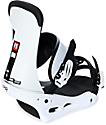 Burton Freestyle White Snowboard Bindings