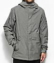 Burton Hilltop 10K chaqueta de snowboard gris jaspeada