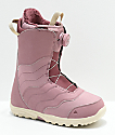 Burton Mint Boa 2019 botas de snowboard en rosa para mujeres
