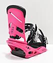 Burton Mission Pink Snowboard Bindings 2019