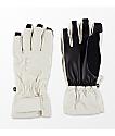 Burton Profile Under guantes de snowboard blancos para mujeres