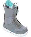 Burton Womens Mint Grey Boa Snowboard Boots