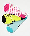 By Samii Ryan Bad Habits 3 Pack No Show Socks