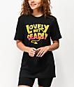 By Samii Ryan Lovely But Deadly Black T-Shirt