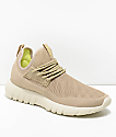 CU4TRO Bolt Sand & Bone Knit Shoes