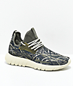 CU4TRO Bolt zapatos con estampado de pasto