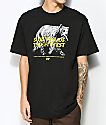 Cake Face PNW Fittest Black T-Shirt