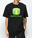 Cake Face PNW North West Mow Black T-Shirt