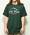 Cake Face PNW Since Birth Green T-Shirt