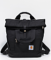 Carhartt Black Hybrid Tote Backpack