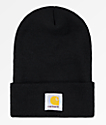 Carhartt Watch Black Beanie