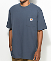 Carhartt Workwear Blue Pocket T-Shirt