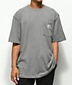 Carhartt Workwear Pocket Heather Grey T-Shirt