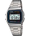 Casio A158W-1 Vintage Silver Watch