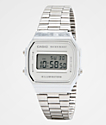 Casio A168WEM-7VT Vintage reloj digital de plata