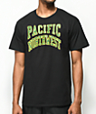 Casual Industrees Collegiate camiseta negra