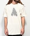 Casual Industrees Johnny Checkers camiseta blanquecina