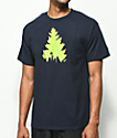 Casual Industrees Johnny Tree Football Navy T-Shirt