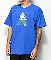 Casual Industrees Johnny Tree Rainier Blue T-Shirt