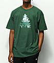 Casual Industrees Johnny Tree Rainier camiseta verde