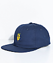 Casual Industrees N Dub Navy Strapback Hat