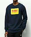Casual Industrees Northwest Original camiseta de manga larga azul