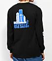 Casual Industrees Old Seattle camiseta de manga larga negra y azul