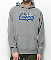 Casual Industrees PNW Downtown Script Heather Grey Hoodie