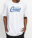 Casual Industrees PNW Downtown Script camiseta blanca