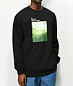 Casual Industrees PNW Mountain Layers Black Long Sleeve T-Shirt