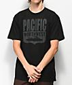 Casual Industrees PNW Shield camiseta negra
