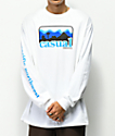 Casual Industrees PNW Skyline White Long Sleeve T-Shirt