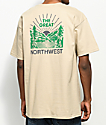 Casual Industrees PNW Squatch Valley 2 Tan T-Shirt