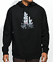 Casual Industrees Rainier Johnny Tree Black Hoodie