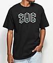Casual Industrees SEA Area Code camiseta negra