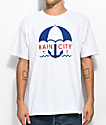 Casual Industrees Sea Rain City camiseta blanca