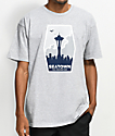 Casual Industrees Seatown Fans camiseta gris