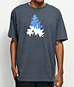 Casual Industrees Seattle Johnny Tree Heather Navy T-Shirt